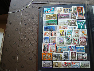 RUSSIE - 41 timbres obliteres stamp russian