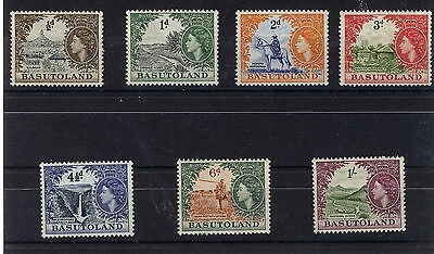 Basutoland 1954 Definitives Sg43/49  Mnh
