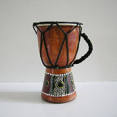 Handmade Wooden Djembe Darbuka Drum Mid.East /Africa music instrument SMALL 14cm