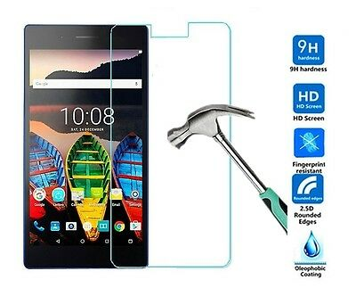 "Uk Tempered Glass Screen Protector Cover For Lenovo Tab 3 8.0"" Tablet"