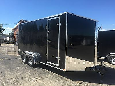 New 2016 7 x 14 Enclosed  with 7ft interior Trailer SALE PRICE