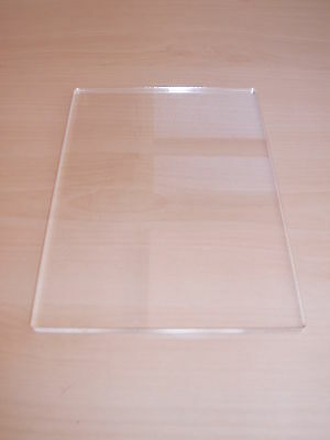 Acrylicraft Stamp Block A6 Size Clear Acrylic Slimline Stamping Blocks
