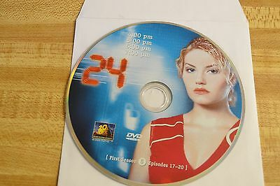 24 First Season 1 Disc 5 Replacement DVD Disc Only 54-185