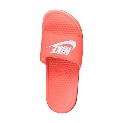 Nike Benassi JDI Slide Sandals - Women Bright Mango NWT