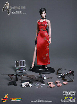 "HOT TOYS Resident Evil 4 ADA WONG 12"" 1/6 Scale Figure Video Game Leon Kennedy"