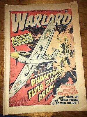 Warlord Comic #56 October 18th 1975 , very nice condition