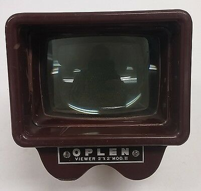 "Vintage OPLEN Slide VIEWER - Model II 2"" x 2"" Used   C1"