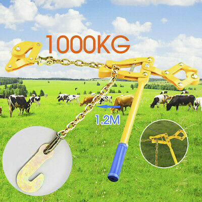 Fencing Strainer Plain Wire Electric Fence Energiser Chain Repair Tool AU Stock