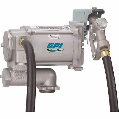 GPI Fuel Transfer Pump with Manual Nozzle - 115V AC, 20 GPM, Model# M-3120-ML
