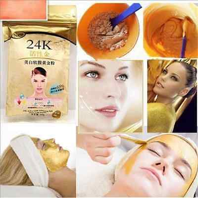 24K GOLD Active 50g Anti-Aging Luxury Spa Treatment Face Mask Powder Skin Care