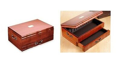 Reed & Barton Provincial Flatware/Silverware Chest - Cherry Finish - NEW