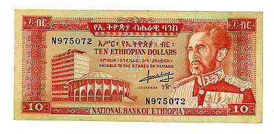 Ethiopia … P-27a … 10 Dollars … ND(1966) … *XF+*