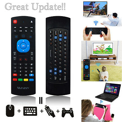 Measy 2.4G Mini Wireless Air Keyboard Mouse w/ Infrared Remote for PC TV Box Hot