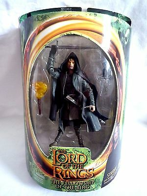 Lord Of The Rings /  Strider Figure With Sword  Slash Action / Toy Biz 2001