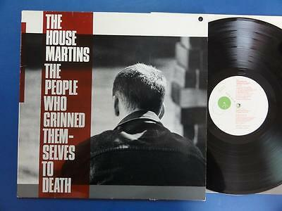 THE HOUSEMARTINS  THE PEOPLE WHO BRING THEMSELVES TO DEATH Go Discs 87 A3B3