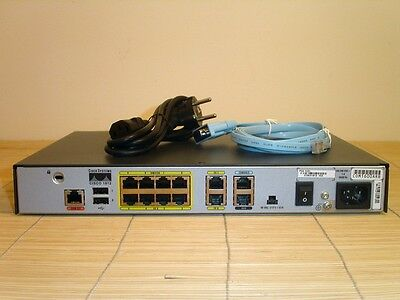 Cisco 1812/K9 Integrated Services Router 128MB RAM 32MB