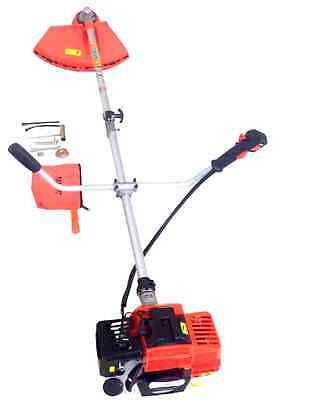 Top Quality 52Cc 2In1 Petrol Strimmer Brush Cutter Grass Trimmer+Free Toolkit