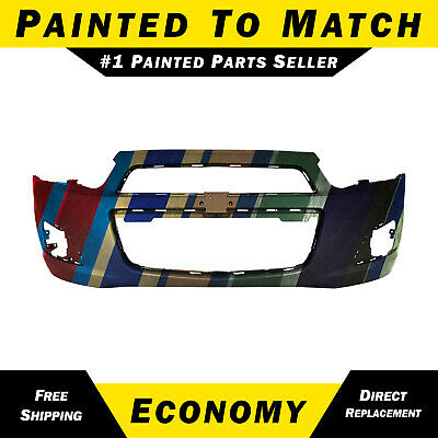 NEW Painted to Match - Front Bumper Cover for 2012-2016 Chevy Sonic Sedan/Hatch