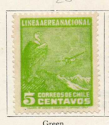 Chile 1931 Early Issue Fine Mint Hinged 5c. 089749