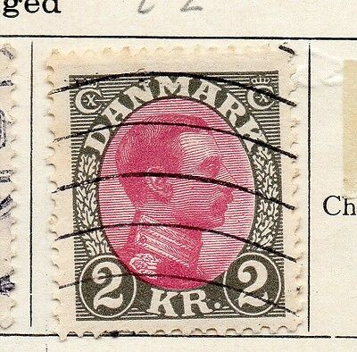 Denmark 1925-27 Early Issue Fine Used 2Kr. 089895