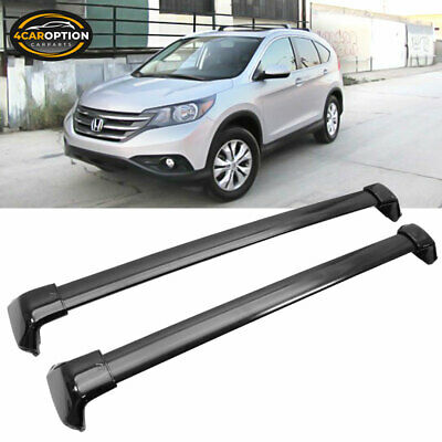 Fits 12-16 Honda CRV CR-V OE Style Roof Rack Cross Bar Black Polish