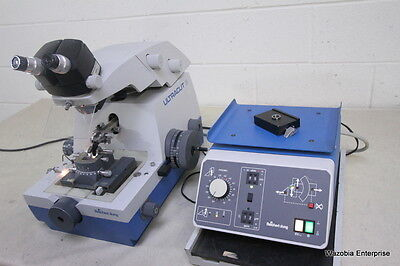 Reichert-Jung Ultracut E Microtome 70 17 04  With Stereo Star Zoom 0.7X-4.2X 570