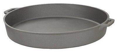 Deep Dish Pizza Pan Cast Iron 20 inch