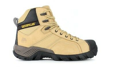 CAT Caterpillar Argon Hi Steel Toe Work Safety Boots Tradies Shoes