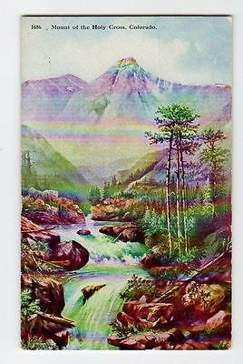 Mount Of The Holy Cross Colorado Beautiful Postcard   C69