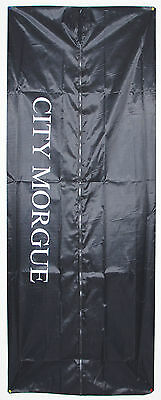 City Morgue Body Corpse Bag Halloween Decor Decoration Haunted House 6' Prop
