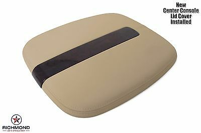 2009-2011 Cadillac Escalade Leather Center Console Lid Cover-Armrest Compartment