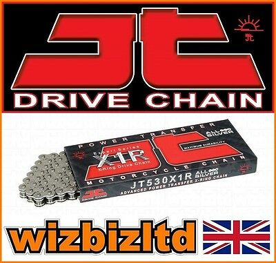 JT 530X1R X-Ring Nickel Chain Yamaha FZS600 SP Fazer 2000-01 CHJ640N