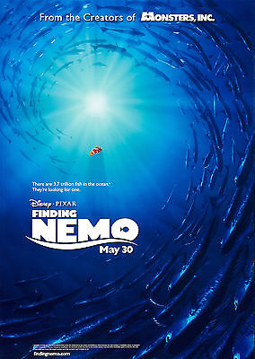 Finding Nemo (2003) V2 - A1/A2 POSTER **BUY ANY 2 AND GET 1 FREE OFFER**