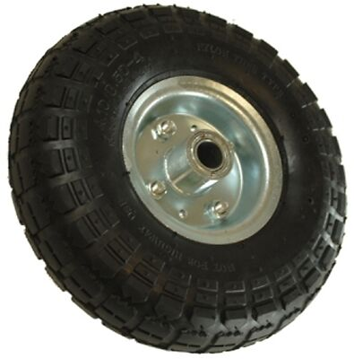 260mm Pneumatic Steel Wheel and Tyre Maypole 2291 New