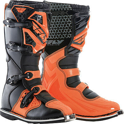 Fly Racing Maverik Boot Orange Sz 10 364-56910