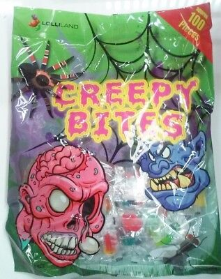 Halloween Creepy Bite Lollies (750g - Approx. 100 Pieces)