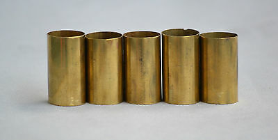 Brass Plain Walking Stick Cane Collars Qty 1