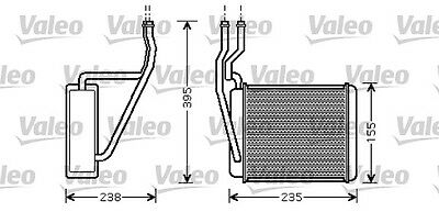 FORD FUSION 1.6 Heater Matrix 02 to 12 812320 Exchanger Interior Valeo 1206926