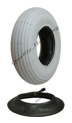 1 new Grey Mobility Scooter tyre and tube 200x50  non marking wheelchair