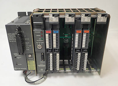 Allen-Bradley 1771-Ln3 Plc-2 Processor Ser B, 1771-Pa Power Supply 1771-It More