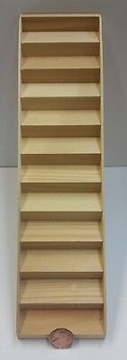 "Dollhouse Miniature 1:12 Scale Timberbrook Straight Stair, 8-3/8"" Floor #TIM1805"