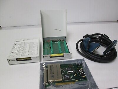 National Instruments SCB-68 Kit w/ PCI-DAS6035 PCI DAQ Expansion Card & Cable
