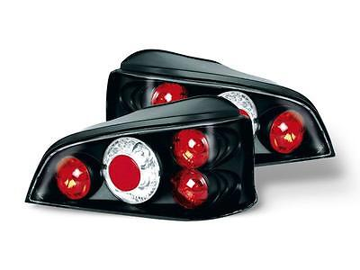 Peugeot 106 1996-2003 Black Jdm Lexus Style Rear Tail Lights Lamps Pair