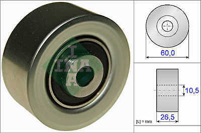 PEUGEOT 206 1.6 Auxiliary Belt Idler Pulley 2000 on 532056110 Deflection INA