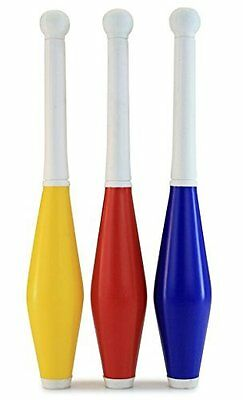 3 Colourful Juggling Clubs for Kids - Starter Kit T79 042