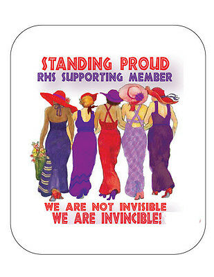 (R) Computer Mouse Pad Stand Proud Supporting Member  For  Ladies Of Society