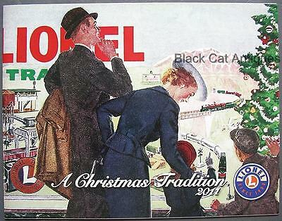 """2011 Lionel Model Trains & Accessories """"A Christmas Tradition"""" Catalog w/Prices"""