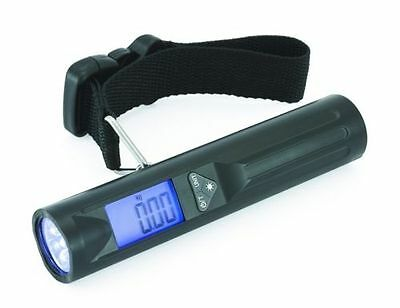 New Portable Digital Travel Weighing Luggage Scale with 8 LED Torch for Suitcase