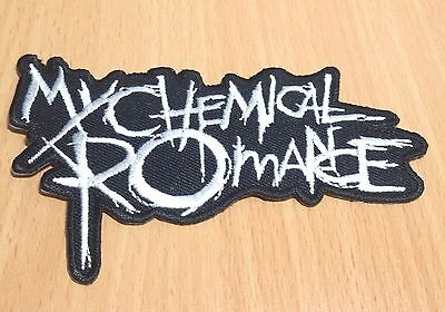 1xNEW MY CHEMICAL ROMANCE MUSIC ROCK EMBROIDERED LOGO IRON ON PATCH SHIRT PO183