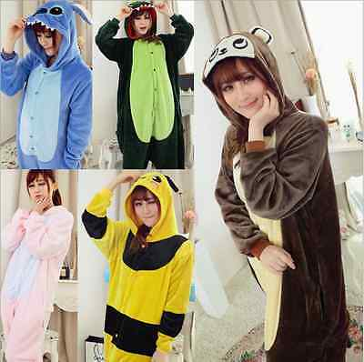 New unisex Adult Animal Onesies Onsie Sleepwear Onesie Dress Kigurumi Pyjamas